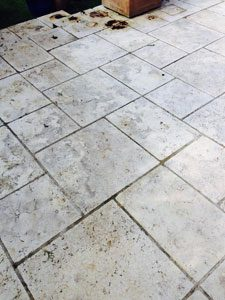Cleanign Patio Tiles Chelsea